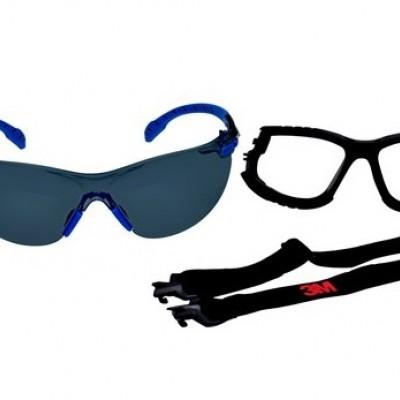 KIT Óculos de Segurança 3M™ Solus 1000 Cinza CA 39190